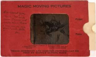 Magic Moving Picture Postcard - Cowboy [137670]