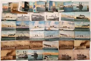Steamship Postcard Collection [133709]