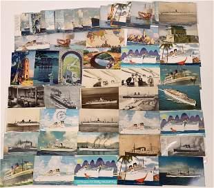 Steamship Postcard Collection: Ocean Going [133712]
