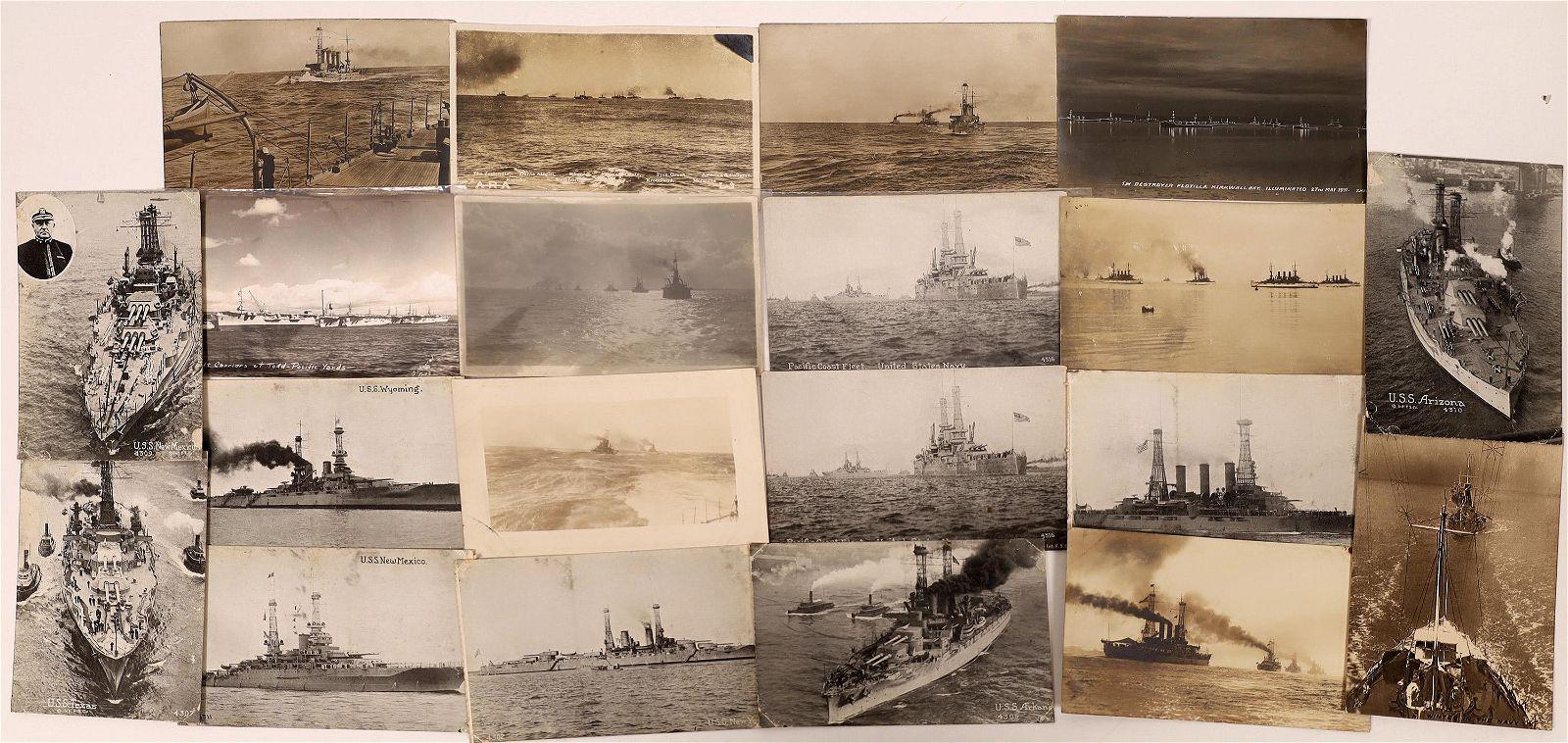 US Navy Postcard Group 9, Fleet (12) [136077]