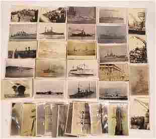 US Navy Postcard Group 13, Torpedo Boats, Destroyer