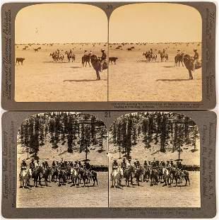 Arizona Cowboys Stereoview Pair [134185]