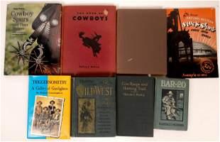 Vintage Cowboy Library (8) [136629]