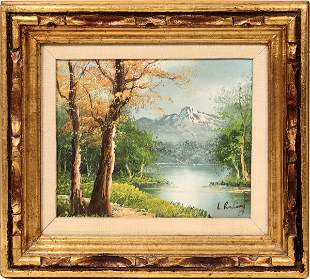 L. Rudling Oil Painting [136565]
