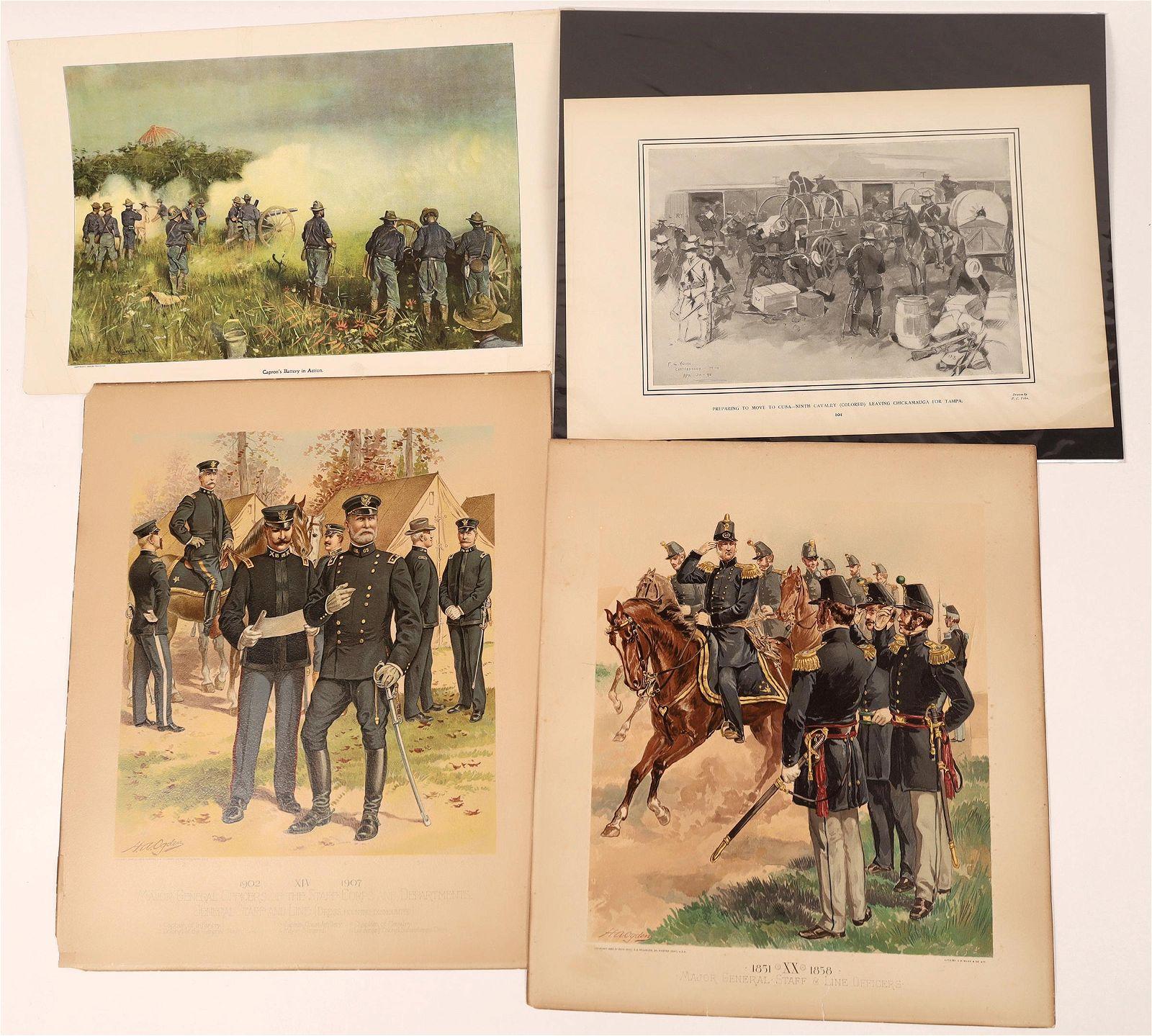 Military Prints, C. 1890's [136911]