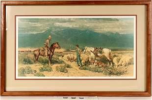 Open Range Encounter by Robert Lougheed [125002]