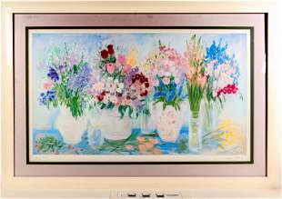 Spring Scents Floral Print by Lilliana Braico [124998]