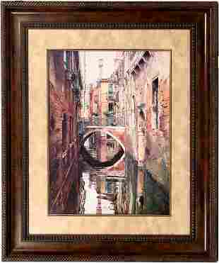 Venice Canals Large Prints in Fancy Frames (2)
