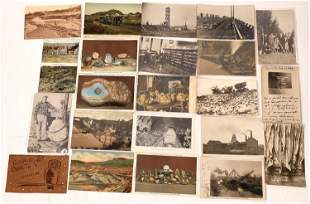 Mining, Mineral and Related Postcards (Lot of 21)