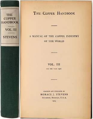 The Copper Handbook Volume III [136860]