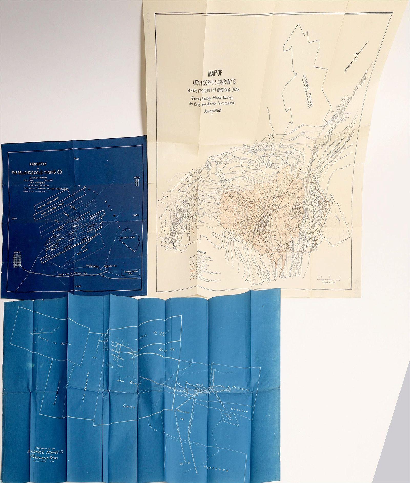 U.S. Mining Coís Property Maps (3) [137611]