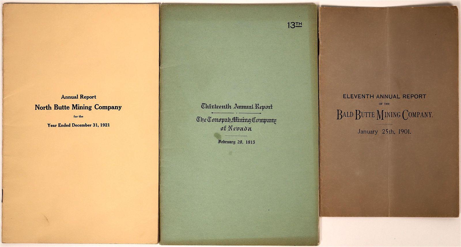 U.S. Mining Company Annual Reports (3) [137600]