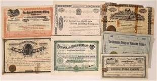 Mexican Mining Stock Certificate Collection [135190]