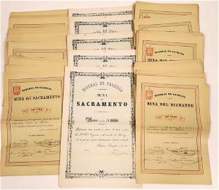 Mining Bonds for Two Mexico Mines Del Sacramento and