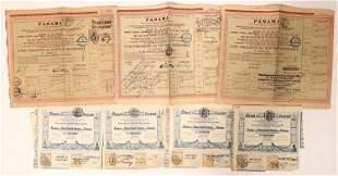 Panama Stock Certificates [135079]