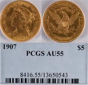 U.S. $5 Gold Piece [136481]