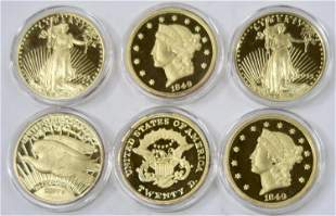 Gold Plated Silver Rounds [136492]