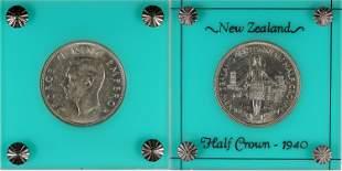 New Zealand Half Crown 1940 [137707]