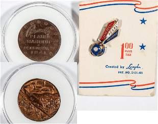 Pearl Harbor Commemorative Medal & Pin (2) [137492]