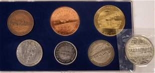 London Bridge Lake Havasu Medal Set/ S.F. Cable Car