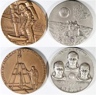 Medallic Art Space Medals [138818]