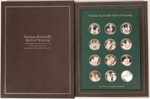 Norman Rockwell's Spirit of Scouting Sterling Silver