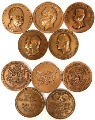 Presidential Inauguration Medals by Medallic Art