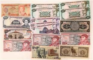 Central America Currencies [136333]
