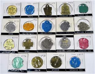 Nevada Dog License Collection [136383]