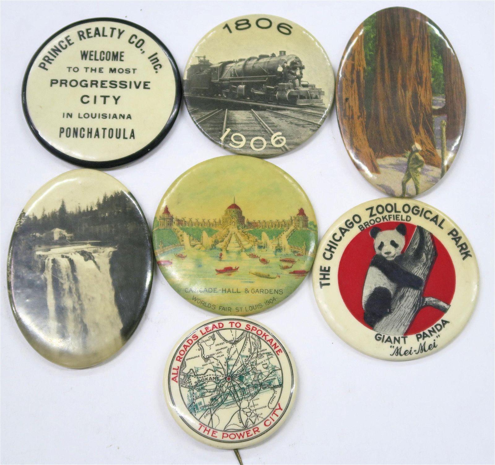 Souvenir & Advertising Pocket Mirrors [136369]