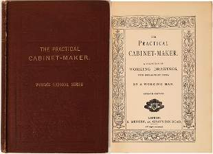 """""""The Practical Cabinet-Maker"""" by Wyman [135984]"""