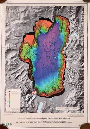 Lake Tahoe Maps [135633]