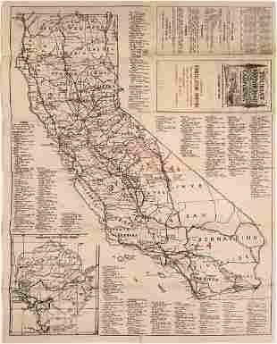Early California Tourist Road Maps (2) [137631]