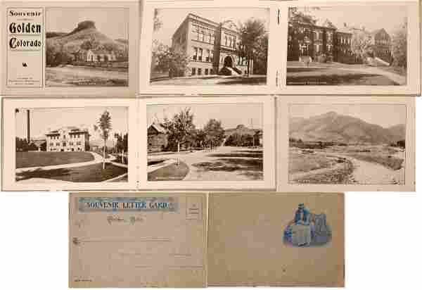 Golden, Colorado Souvenir Letter Card [135293]