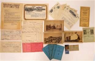 Colorado Ephemera Collection [132635]