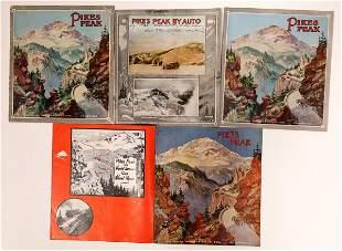 Pike's Peak Touring Brochures [135069]