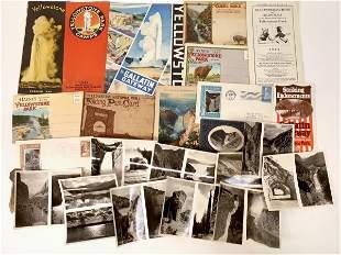 Yellowstone Vintage Ephemera [132600]