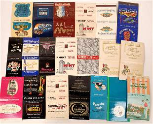 Casino Match Book Cover Collection [132627]