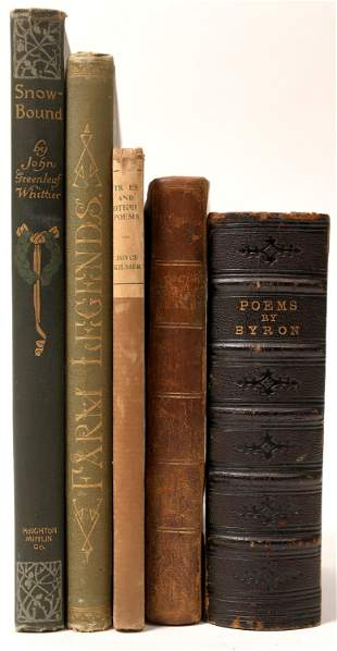 Poetry Book Collection [136867]