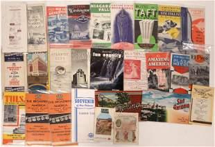 Vintage Tourist Pamphlet Collection [132605]