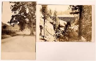 Lyon's Dam (near Auburn) California Postcards - 2