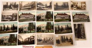 Hotels and Lodges of Yosemite Postcard Collection