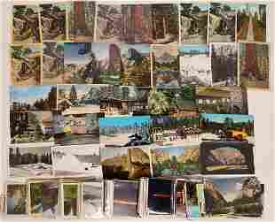 Yosemite Historic Postcard Collection [132567]