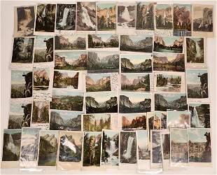 Yosemite Non-Split Back Postcard Collection [132551]