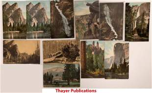 Yosemite Postcard Collection: Various Publishers
