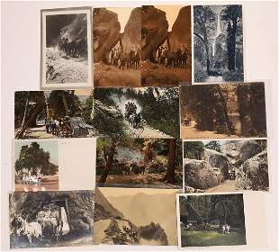 Yosemite Stage Coach Postcard Collection [132553]