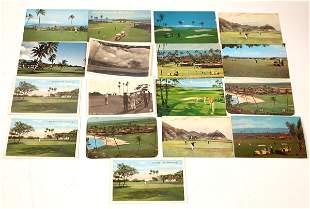 Hawaii Postcard Collection: Golfing [136157]