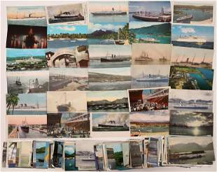 Hawaii Postcard Collection: Ships and Boats [133676]