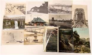 Railroad Related South Dakota Postcards [135140]