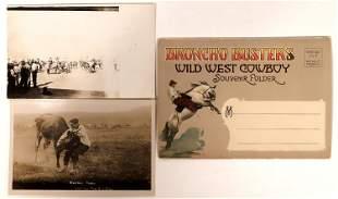 Rodeo Real Photo Postcards & Souvenir Mailer [135740]